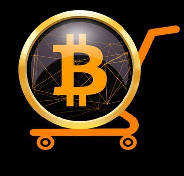 Bitcoin shop poster