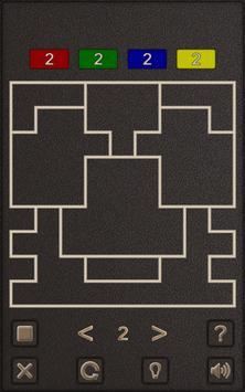 Four Color Shape Puzzle poster