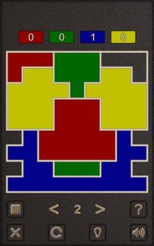Four Color Shape Puzzle screenshot 1