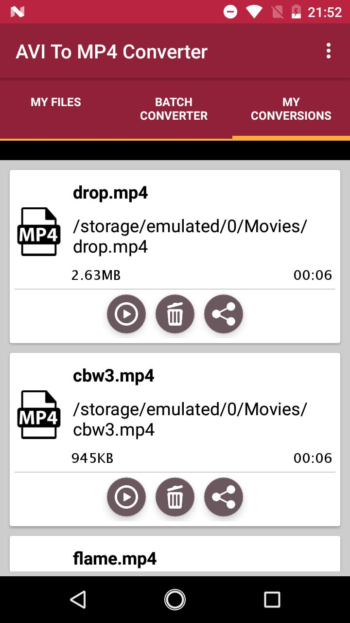 Avi To Mp4 Converter for Android - APK Download