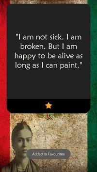 Frida Kahlo Quotes 🇲🇽 screenshot 1
