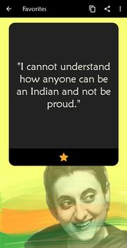 Indira Gandhi Quotes 🇮🇳 screenshot 3