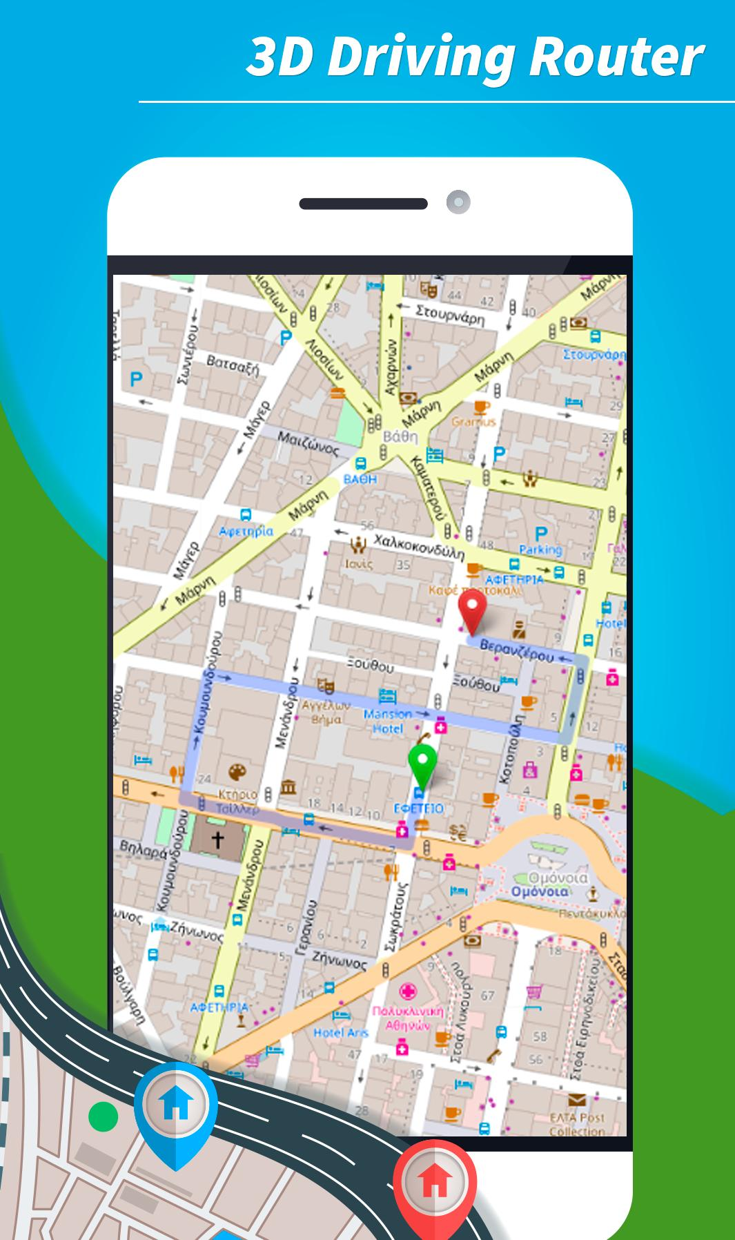 Greece Offline Maps And Navigation Gps 3d For Android Apk Download