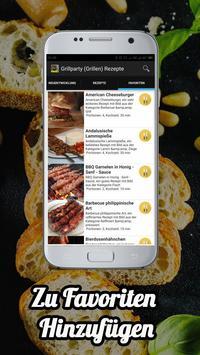 Grillparty (Grillen) Rezepte app Deutsch screenshot 1