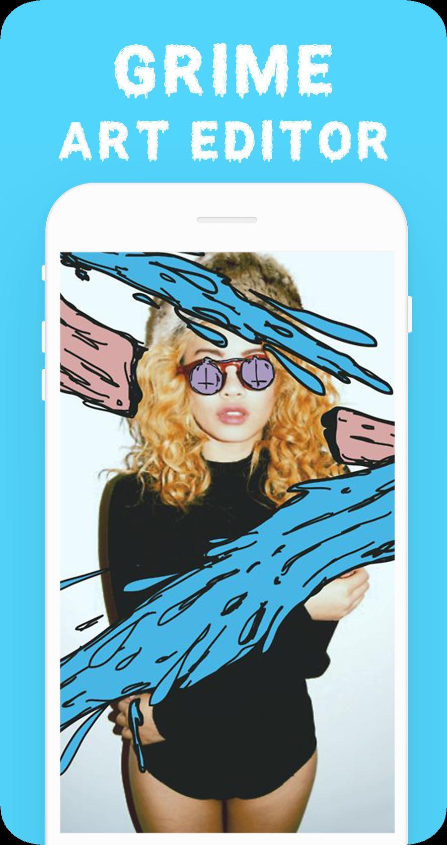 Download aplikasi android gratis game Grime Art Editor