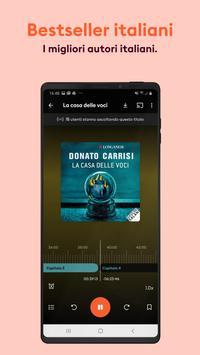 16 Schermata Audiolibri & Podcast Storytel