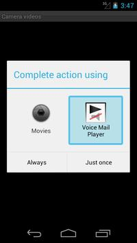 Voice Mail Player screenshot 1