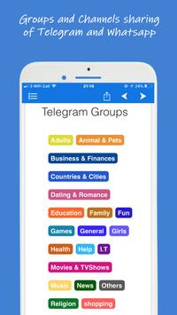WhatsTelegroups - Groups and channels sharing app screenshot 3