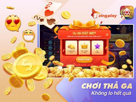 Tiến lên Miền Nam ZingPlay - Game đánh bài online ảnh chụp màn hình 4