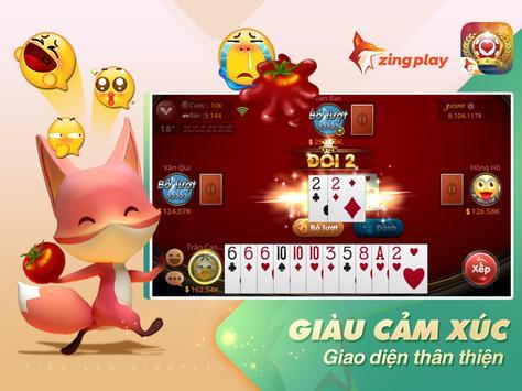 Tiến lên Miền Nam ZingPlay - Game đánh bài online ảnh chụp màn hình 12