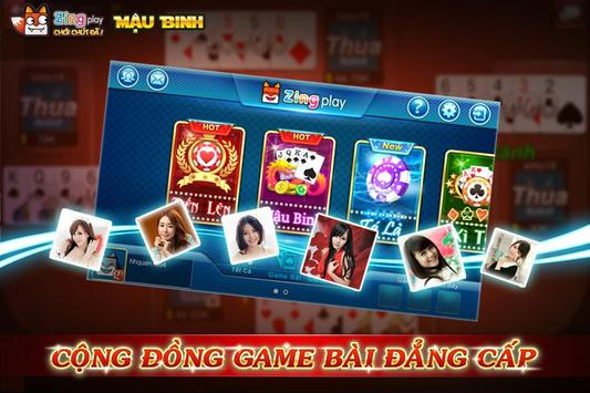 Poker VN - Mậu Binh – Binh Xập Xám - ZingPlay screenshot 6