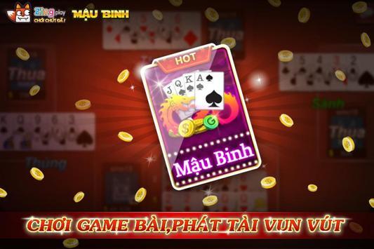 Poker VN - Mậu Binh – Binh Xập Xám - ZingPlay screenshot 8