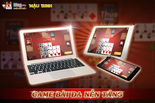 Poker VN - Mậu Binh – Binh Xập Xám - ZingPlay screenshot 2