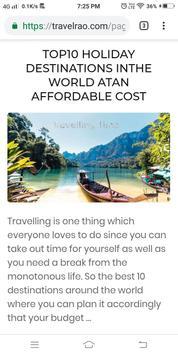 Post Your Journey In Travelrao App screenshot 2