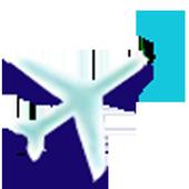 Direction plane icon