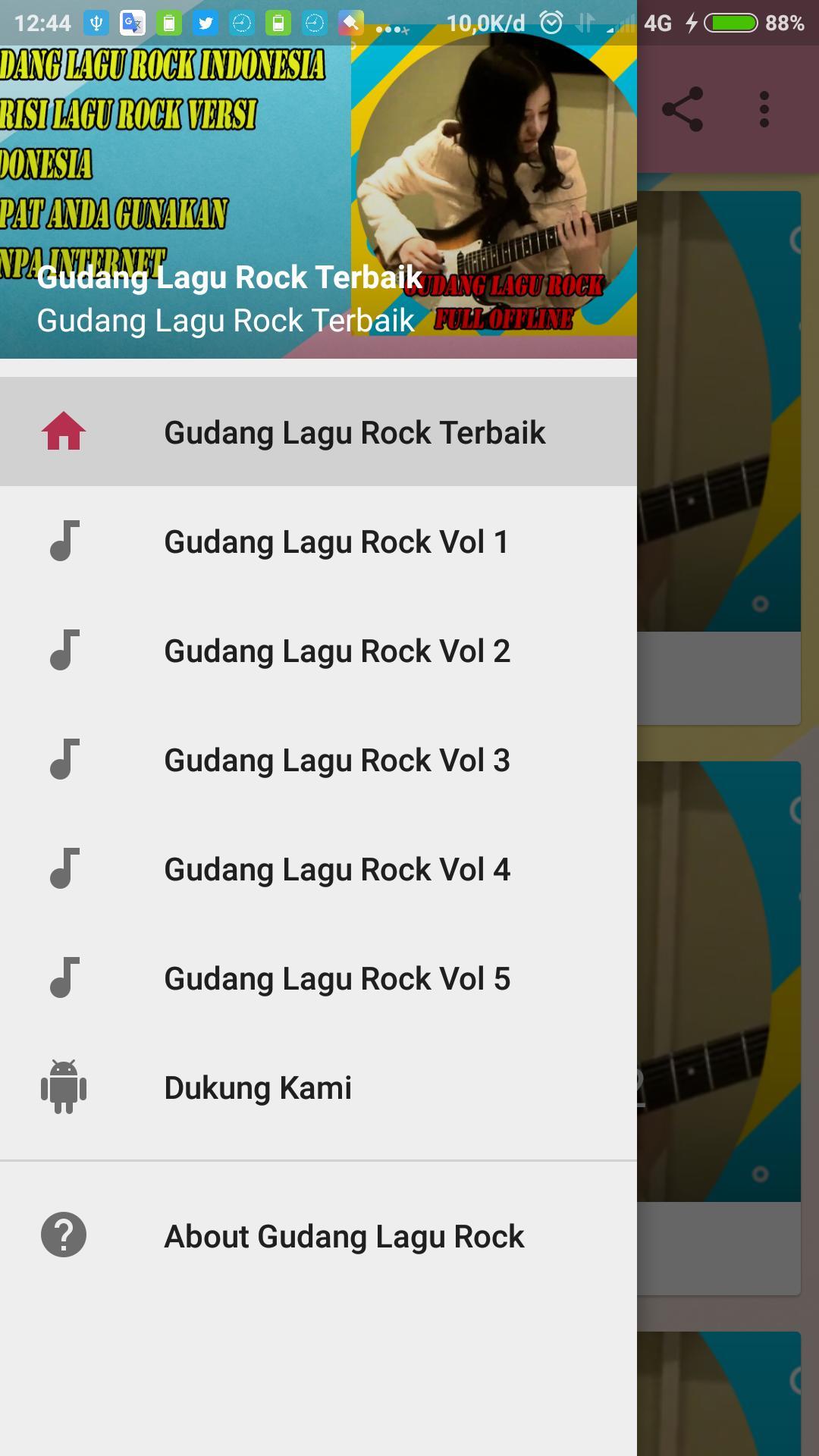 Gudang Lagu Mp3 Lagu Rock Full Offline For Android Apk Download