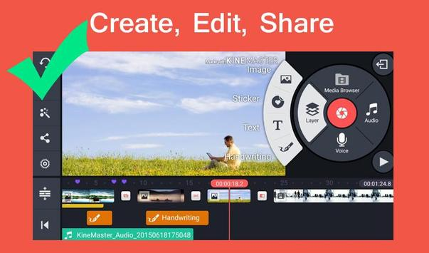 Pro Kine Master + Manual best Free video editor screenshot 1