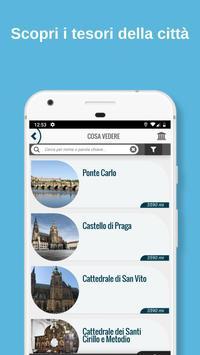 1 Schermata PRAGA - Guida, mappe, biglietti e visite guidate