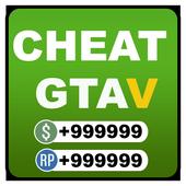 Cheats For GTA V (GUIDE PS4/XBOXONE) icon