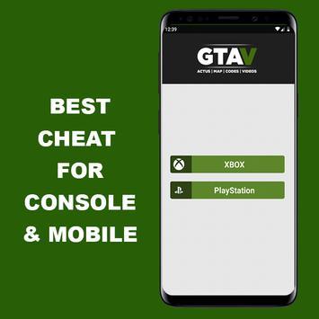 Cheats For GTA V (GUIDE PS4/XBOXONE) poster