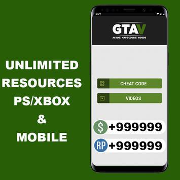 Cheats For GTA V (GUIDE PS4/XBOXONE) screenshot 1