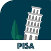 PISA City Guide, Offline Maps, Tours and Hotels أيقونة