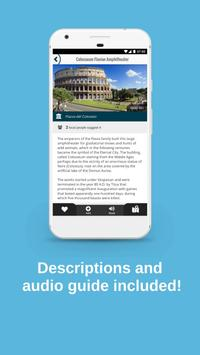 ROME City Guide, Offline Maps, Tours and Hotels スクリーンショット 4
