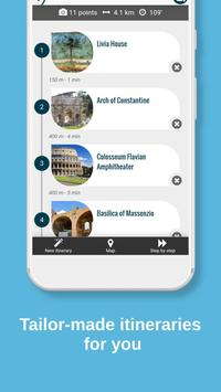 ROME City Guide, Offline Maps, Tours and Hotels スクリーンショット 2