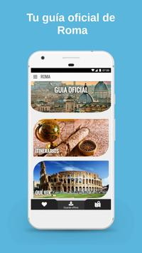 ROMA - Guía , mapa, tickets , tours y hoteles Poster