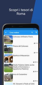 2 Schermata ROMA - Guida, mappe, visite guidate ed hotel