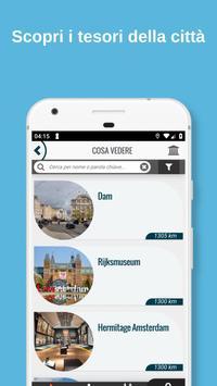 1 Schermata AMSTERDAM Guida, mappe, biglietti e visite guidate