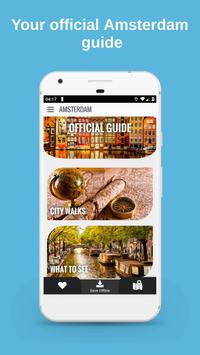AMSTERDAM City Guide Offline Maps and Tours 海報