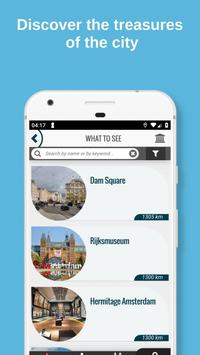 AMSTERDAM City Guide Offline Maps and Tours 截圖 1