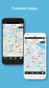 AMSTERDAM City Guide Offline Maps and Tours 截圖 3