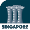 SINGAPORE City Guide Offline Maps and Tours أيقونة
