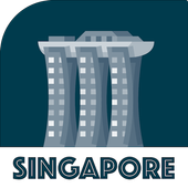 SINGAPORE City Guide Offline Maps and Tours biểu tượng
