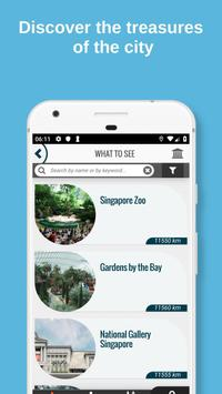 SINGAPORE City Guide Offline Maps and Tours ảnh chụp màn hình 1