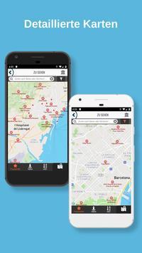 BARCELONA Reiseführer - Karte und Touren Screenshot 3