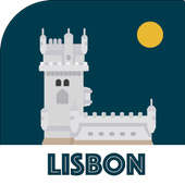 LISBON City Guide, Offline Maps, Tours and Hotels 图标