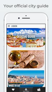 LISBON City Guide, Offline Maps, Tours and Hotels 海报