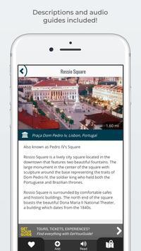 LISBON City Guide, Offline Maps, Tours and Hotels 截图 3