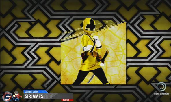 PPSSPP : Power Rangers: ninja steel screenshot 1