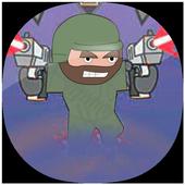 Guide for Mini Militia 2019  Militia Tips & Tricks أيقونة
