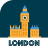 LONDON City Guide, Offline Maps, Tickets and Tours أيقونة