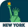 NEW YORK City Guide, Offline Maps, Tickets & Tours أيقونة