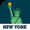 NEW YORK City Guide,  Offline Maps and Tours 圖標