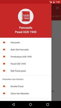 Pancasila dan UUD 1945 poster
