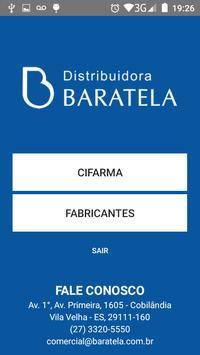 Baratela NC poster