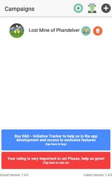 D&D Tool - Initiative Tracker poster