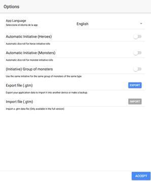 D&D Tool - Initiative Tracker screenshot 17